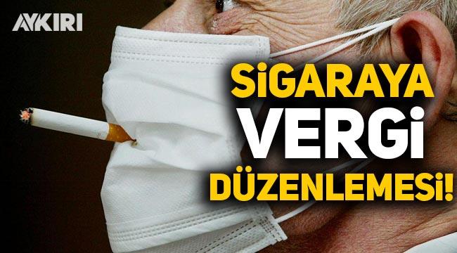 Sigaraya vergi düzenlemesi: ÖTV düşürüldü