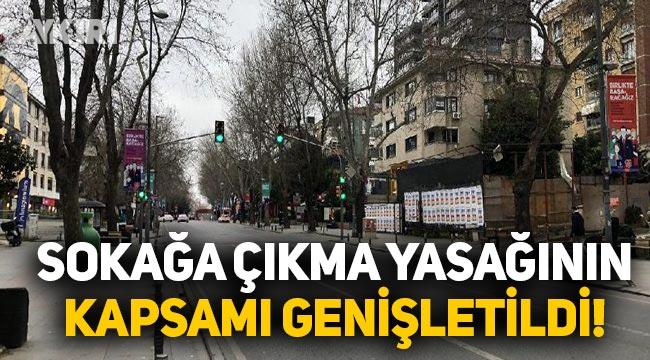 Sokağa çıkma yasağında değişiklik, İçişleri Bakanlığı'ndan yeni sokağa çıkma genelgesi