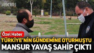 Sokakta kaldığı için ceza kesilen vatandaşa Mansur Yavaş sahip çıktı