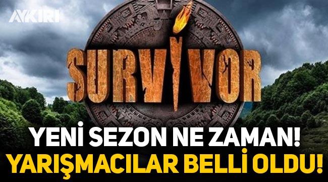 Survivor ne zaman başlıyor? Survivor 2021 yarışmacıları? Survivor'da kimler var?