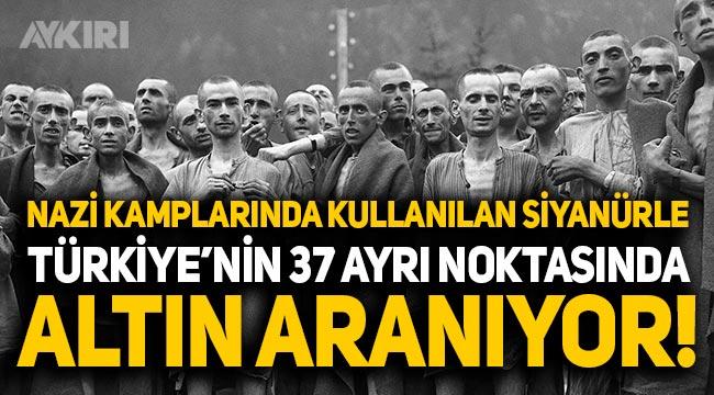 Türkiye'de siyanürle yapılan aramalar tepki çekiyor