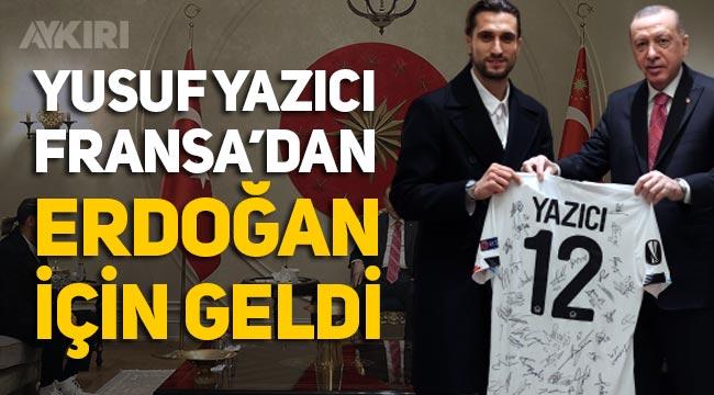 Yusuf Yazıcı, Saray'a çıktı, Cumhurbaşkanı Erdoğan ile görüştü