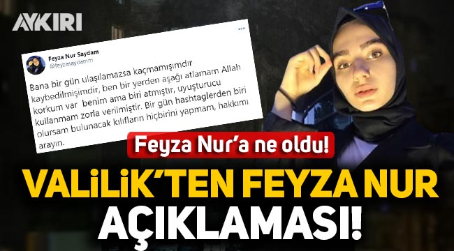 7. kattan düşerek hayatı kaybeden Feyza Nur Saydam hakkında Gaziantep Valiliği'nden açıklama!