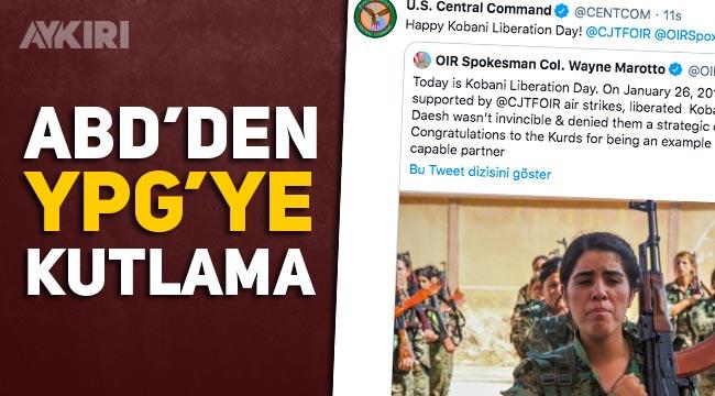 ABD ordusundan YPG'ye kutlama