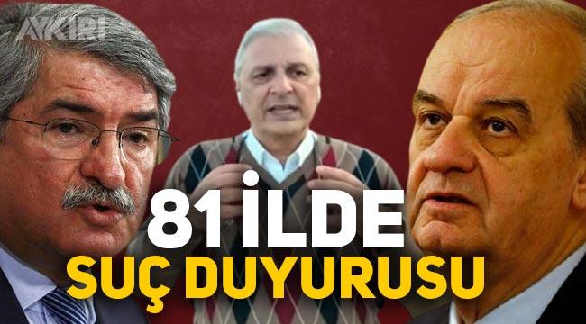 AK Parti, İlker Başbuğ, Fikri Sağlar ve Can Ataklı hakkında 81 ilde suç duyurusunda bulunacak