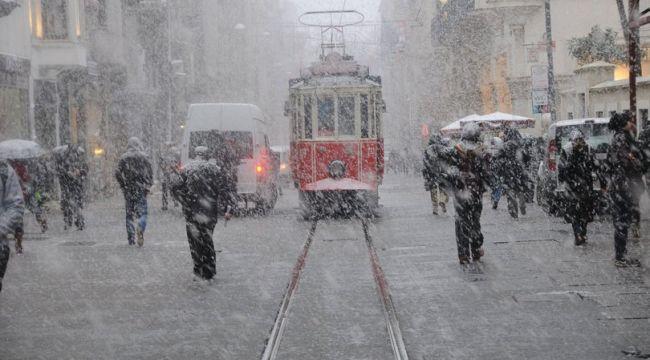 AKOM'dan İstanbul için 'kar yağışı' uyarısı