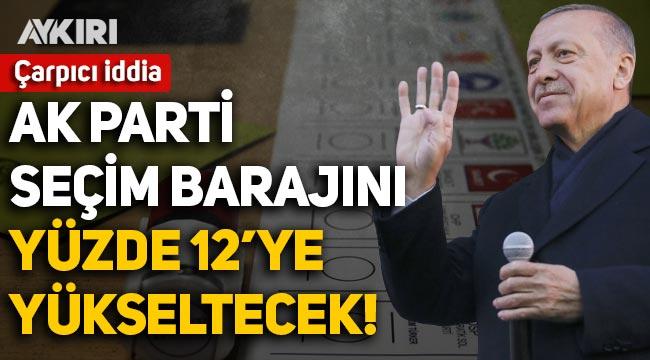 Barış Yarkadaş'tan çarpıcı iddia: AK Parti seçim barajını yüzde 12'ye yükseltecek