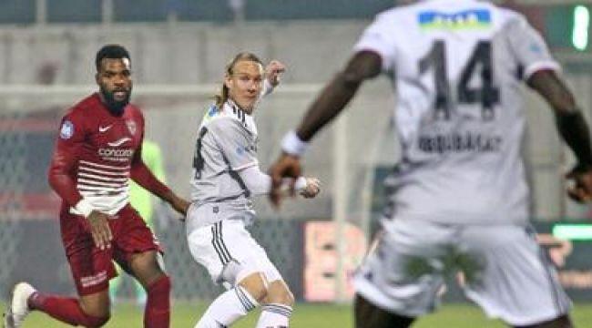 Beşiktaş, Atakaş Hatayspor ile deplasmanda 2-2 berabere kaldı