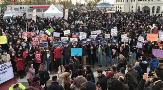 Boğaziçi eylemleri, Kadıköy'de devam ediyor