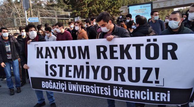 Boğaziçi Üniversitesi eylemleri sonrası 16 kişiye gözaltı!