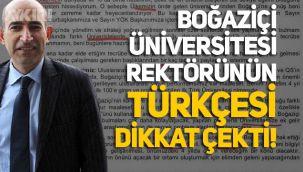 Boğaziçi Üniversitesi Rektörü Melih Bulu'nun Türkçesi tartışma konusu oldu