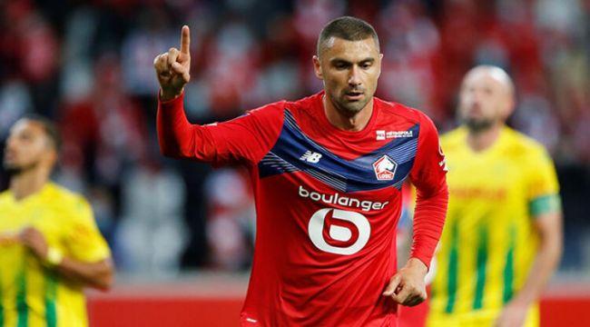 Burak Yılmaz, Lille'de ayın oyuncusu seçildi