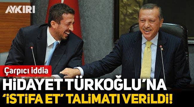 Çarpıcı iddia: Hidayet Türkoğlu'na 'istifa et' talimatı verildi!
