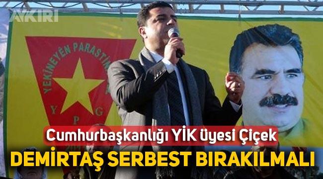 """Cemil Çiçek: """"Selahattin Demirtaş AİHM kararına uyularak serbest bırakılmalı"""""""
