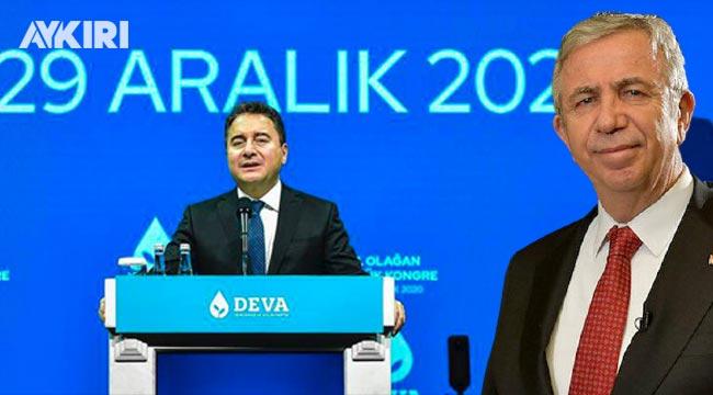 DEVA Partisi'ne salon verilmedi, krizi Mansur Yavaş çözdü