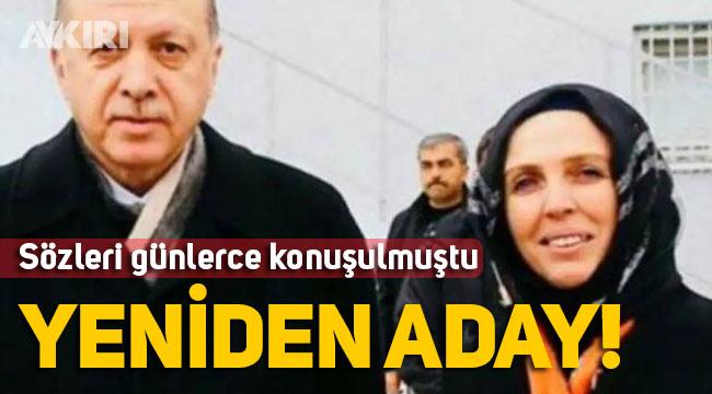 """Erdoğan """"Allah çocuklarımın ömründen alsın size versin"""" diyen AK Partili başkan yeniden aday"""