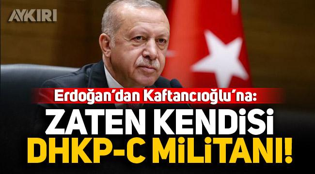 Erdoğan 'Boğaziçi' meselesi üzerinden Kaftancıoğlu'nu hedef aldı: Kendisi DHKP-C militanıdır