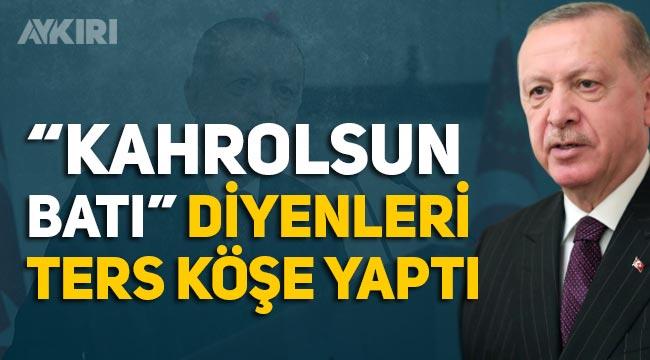 """Erdoğan'dan AB'ye yeşil ışık: """"Tam üyelik hedefinden vazgeçmedik"""""""