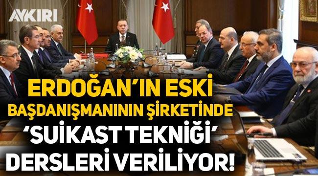 Erdoğan'ın eski danışmanı Tanrıverdi'nin şirketi 'suikast tekniği' dersleri veriyor!