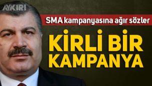 Fahrettin Koca'dan SMA kampanyası hakkında açıklama: