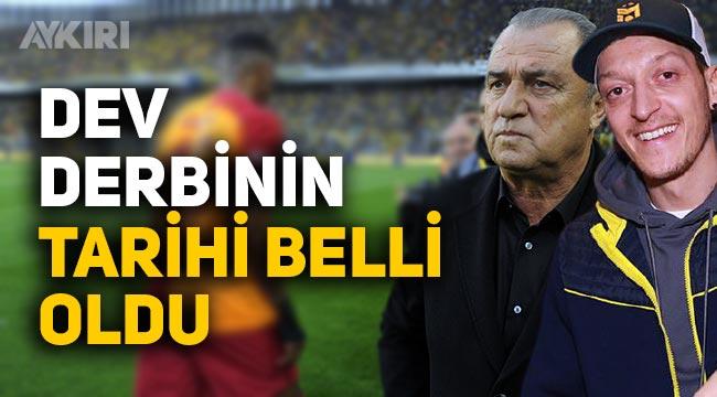 Fenerbahçe-Galatasaray maçı ne zaman? Derbinin tarihi belli oldu
