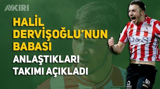 Halil Dervişoğlu kimdir, Galatasarayla anlaştı mı