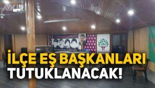 HDP, Esenyurt ilçe eş başkanları bugün tutuklanabilir