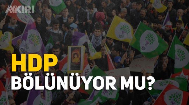 HDP bölünüyor mu! HDP'li Ayhan Bilgen'den yeni parti girişimi