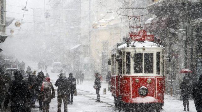 İstanbul'da kar yağışı ne zaman sona erecek?