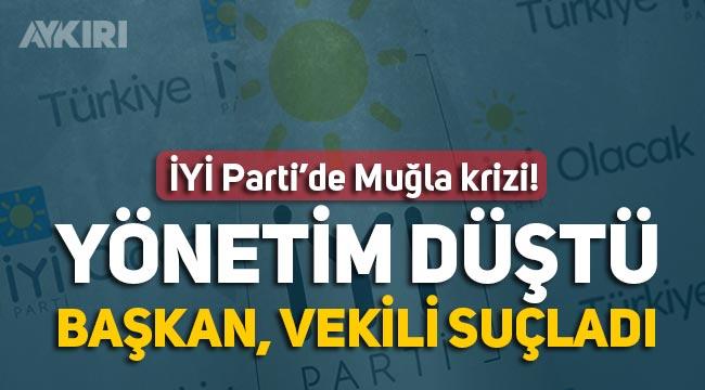 İYİ Parti'de Muğla krizi, Ümit Özdağ ziyaretini duyan il yönetimi istifa etti, İl Başkanı boşa çıktı