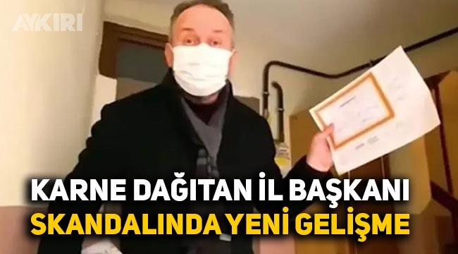 Karne dağıtan AK Parti İl Başkanı'ndan açıklama