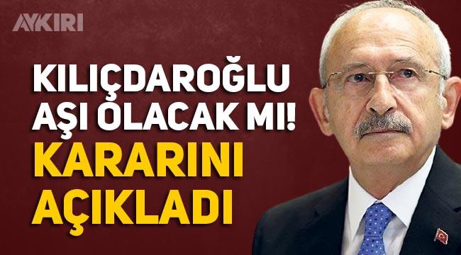 Kemal Kılıçdaroğlu aşı olacak mı? Kılıçdaroğlu, Sağlık Bakanı Fahrettin Koca'nın aşı konusunda kendisini aradığını açıkladı