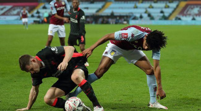 Liverpool, Aston Villa'lı gençlere acımadı!