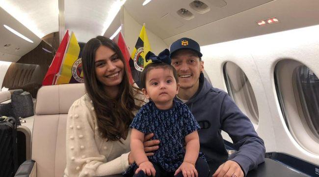 Mesut Özil, özel jetle Fenerbahçe için geliyor