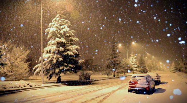 Meteoroloji'den Doğu Anadolu için yoğun kar yağışı uyarısı
