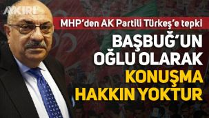 MHP'li Birol Gür'den, AK Partili Tuğrul Türkeş'e tepki: