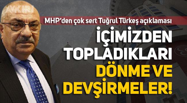 MHP'li Semih Yalçın'dan, AK Partili Tuğrul Türkeş hakkında çok sert açıklamalar