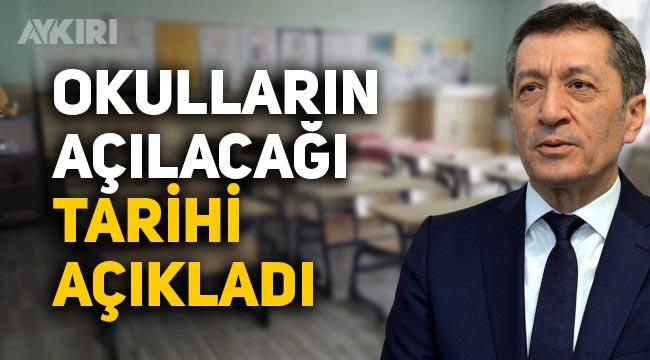 Milli Eğitim Bakanı Ziya Selçuk açıkladı, Okullar ne zaman açılıyor, 15 Şubat'ta okullar açıklacak mı?