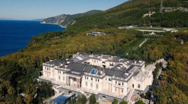 Putin'in gizli Saray'ı ortaya çıktı: Monaco'nun 39 katı büyüklüğünde