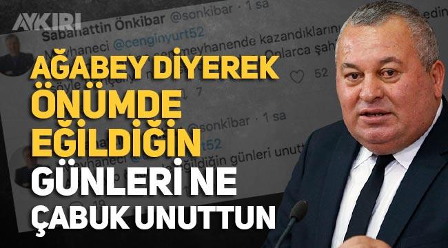 """Sabahattin Önkibar'dan Cemal Enginyurt'a çok sert tepki: """"Ağabey diyerek önümde eğildiğin günleri unuttun"""""""""""