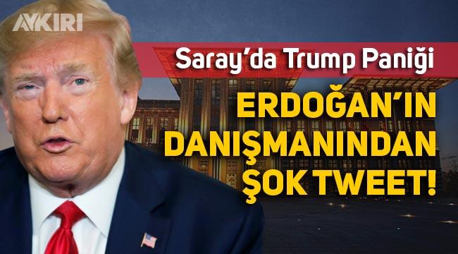 Saray'da Trump paniği, Trump'ın başına gelen Erdoğan'ın da başına gelebilir iması