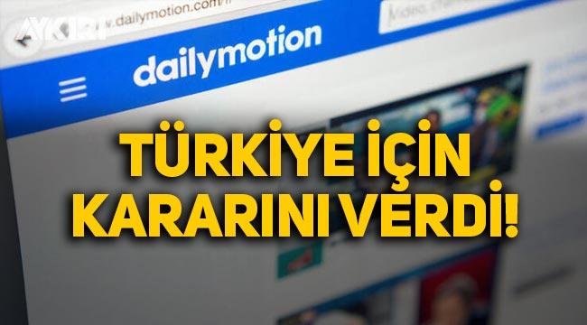 Sosyal medya devi Dailymotion, Türkiye'ye temsilci atadı!