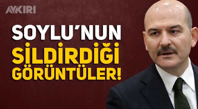 Süleyman Soylu'nun STV'deki görüntüleri silinmeye başladı