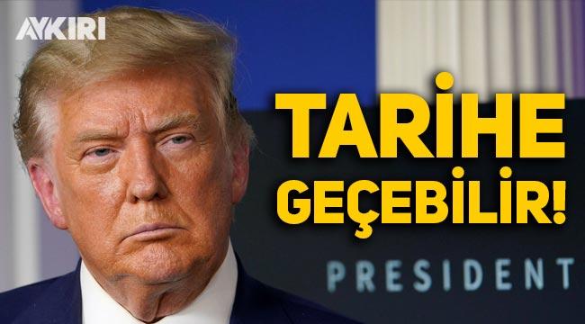 Trump, ABD tarihine geçebilir!