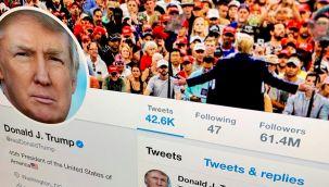 Trump'ın Twitter hesabı kapatıldı