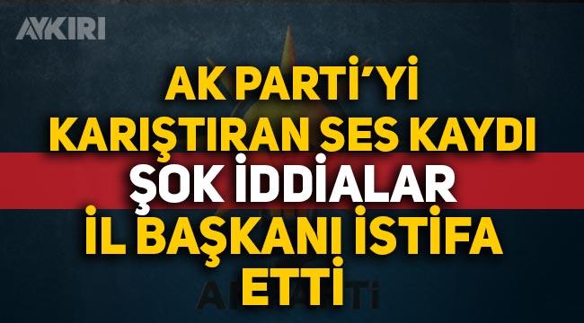 TÜGVA Başkanı ve AK Parti İl Başkanı'nı rüşvetle suçladı, ortalık karıştı, AK Parti Hakkari İl Başkanı istifa etti