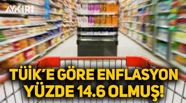 TÜİK'e göre 2020 enflasyonu yüzde 14.6 olmuş!