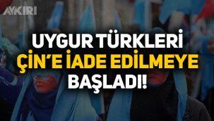 Türkiye'de yaşayan Uygur Türkleri Çin'e iade edilmeye başladı!