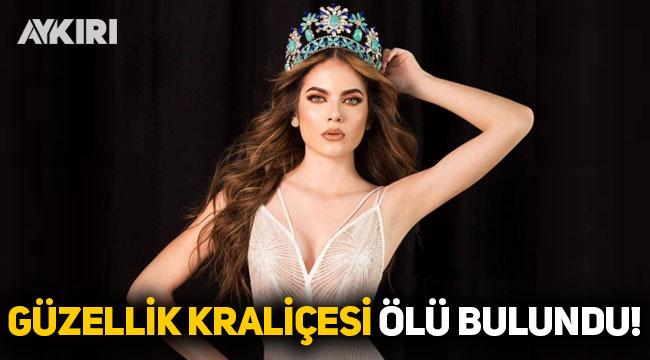Ülke şokta: Güzellik Kraliçesi ölü bulundu!