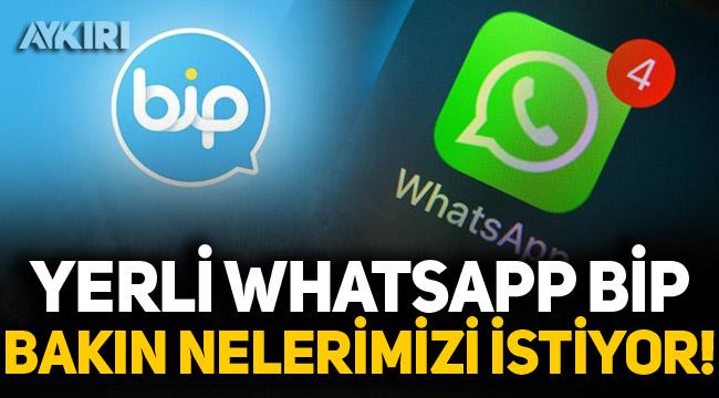 WhatsApp'a alternatif olarak görülen BİP'in gizlilik sözleşmesi ortaya çıktı!